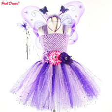 girlsfairydres, party, girls dress, Flowers
