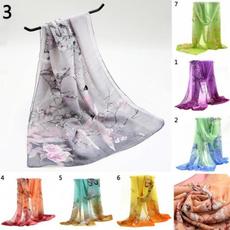 summerfloralscarf, Scarves, women scarf, chiffon scarf