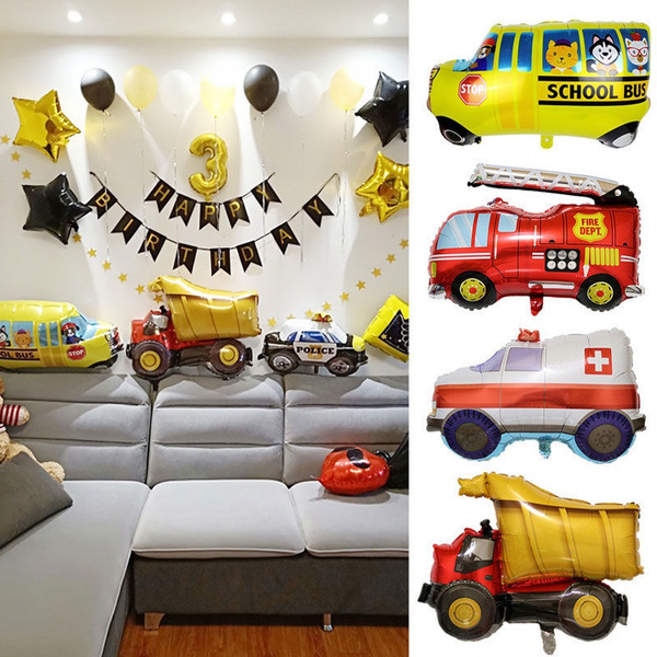 foilballoon, Inflatable, firetruck, decoration