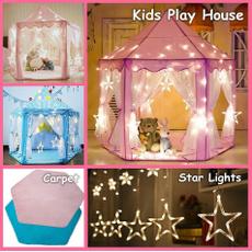 Funny, kidsplayhouse, lights, led