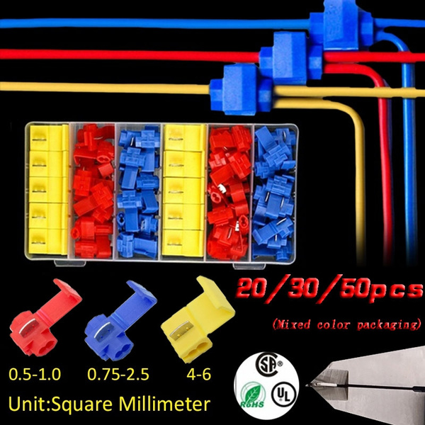 cabletube, quickspliceconnector, wireterminal, scotchlock