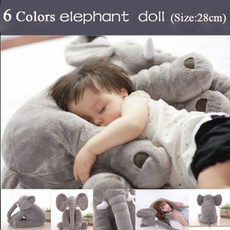 Baby, elephantpillowcover, Toy, doll
