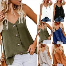 blouse, Summer, Cotton, Plus Size