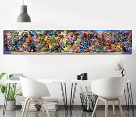 Video Games, art, decoration oil painting, cartoonwallsticker