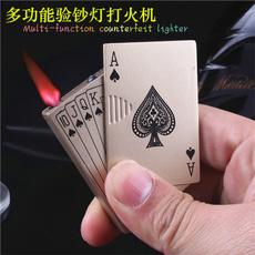 Poker, Gifts, Windproof, Metal