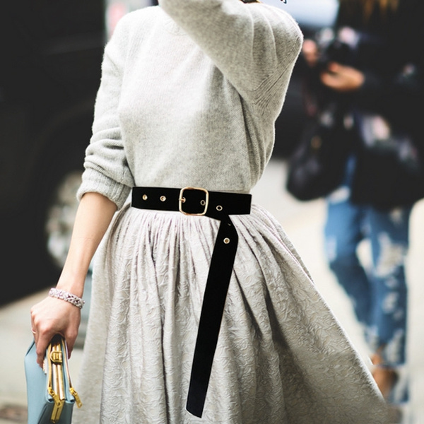 Retro Wide Square Dress Waist Belt with Tassel Party Belts and Headbands  Fabric Girls Women's String Belt Women Belt | Wish