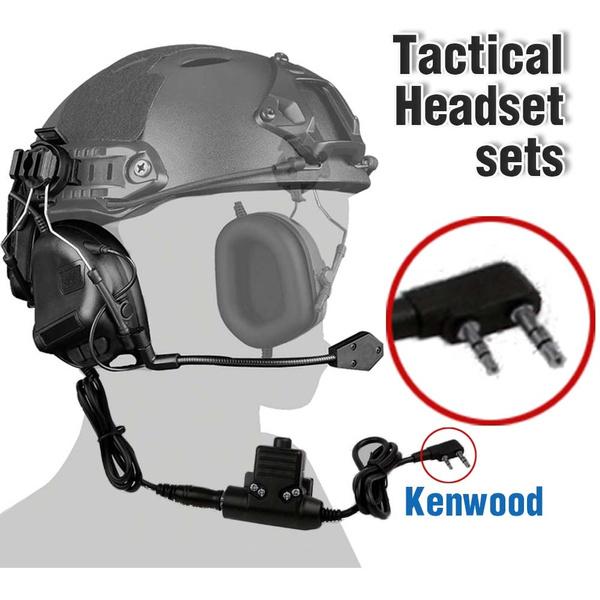 Headset, auricularestáctico, huntingheadphone, noisereduction
