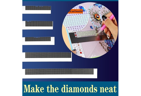 Drawing Ruler Diamond Painting Tools Stainless Steel Embroidery Accessories Tool
