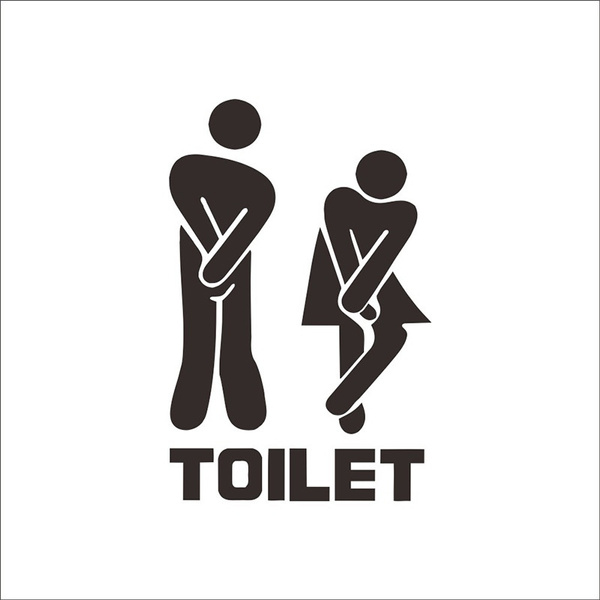 toilet, Bathroom, art, toiletsticker