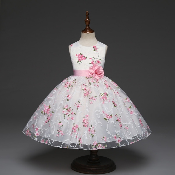 Sleeveless dress, girls dress, Fashion, girlspinkdre