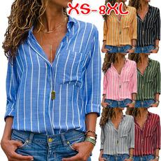 Fashion, chiffon, Women Blouse, Long Sleeve