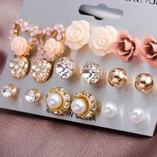 pink, Fashion Jewelry, Flowers, Jewelry