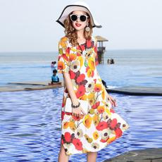 Summer, long skirt, Medium, mulberrysilk