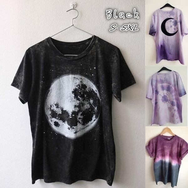 Plus Size, Cotton T Shirt, Sleeve, short sleeves