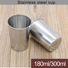 Steel, water, drinkingcup, Cup