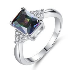 rainbow, DIAMOND, Jewelry, Creative