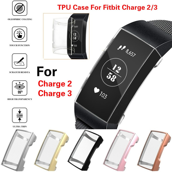 fitbitcharge3screenprotector, Silicone, Watch, slim