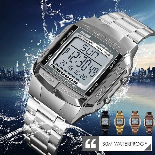 Sports Watch Men, LED Watch, Fashion, led