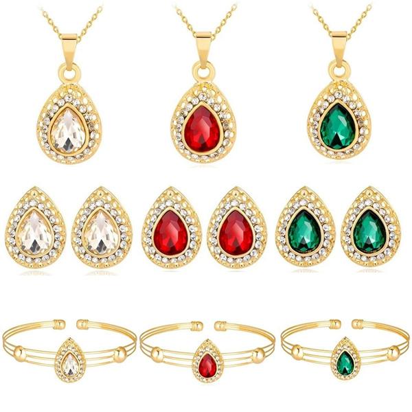 Charm Bracelet, Fashion, Crystal Jewelry, gold necklace