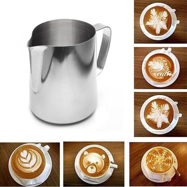 Steel, Coffee, cappuccino, art