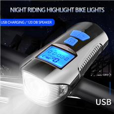 bikespeedodmeter, usbrechargeablehornlight, Bicycle, powerdisplayhornlight