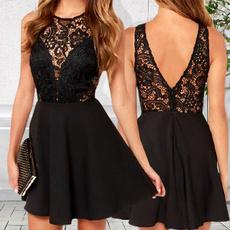 Mini, Shorts, Lace, fashion dress