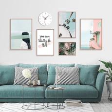 Blues, art, Home Decor, Home & Living