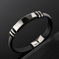 couplesbracelet, Steel, Fashion, Jewelry