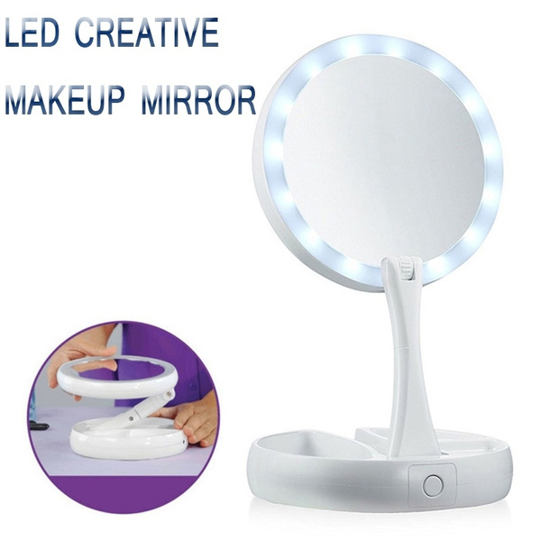 Makeup Mirrors, led, Beauty, Tool