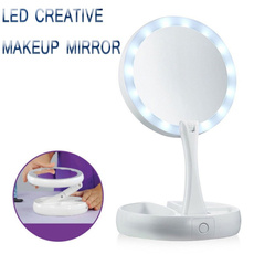Makeup Mirrors, led, Beauty, Tool