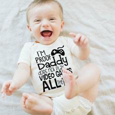 newbornclothing, cottonclothe, infanttoddler, improofdaddydosenotplayvideogamesallthetime