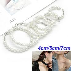pearl jewelry, Hoop Earring, Gifts, Beauty