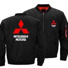 Jacket, mitsubishi, zippers, Hoodies