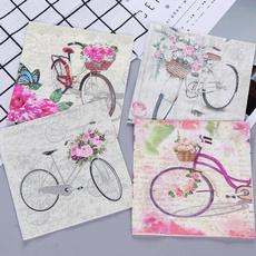 Bikes, Cocktail, Craft, napkin