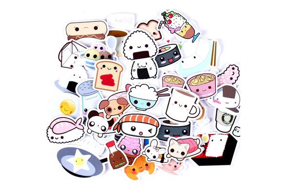 Cute Stickers Label Stickers Scrapbooking Account DIY Hand Sticker 6N