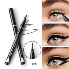 pencil, eyelinerbrush, eye, Beauty