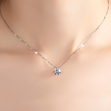 cznecklace, Box, Chain Necklace, DIAMOND