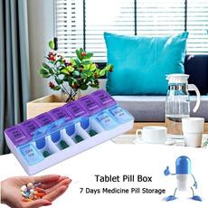 Box, Splitter, pillbox, pillcase