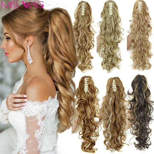 ponytailextension, wig, hairtail, Hairpieces