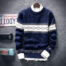 men coat, slim, Knitting, Hoodies