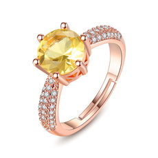 Jewelry, gold, Simple, Rose