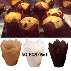 case, 50pcsset, bakingpapercup, Baking