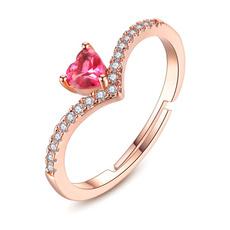 Heart, Jewelry, peach, Simple