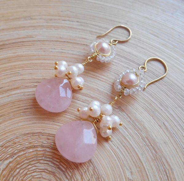 quartz, Rose, gold, June