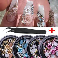 nail decoration, Box, nail stickers, DIAMOND