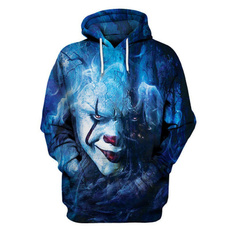 3D hoodies, Fashion, King, unisex