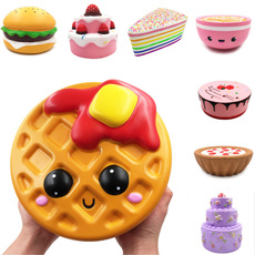 jumbosquishy, squishyvsrealfood, Toy, slowrisingsquishytoy