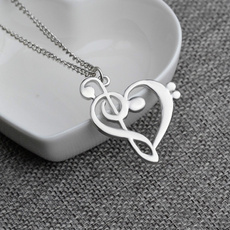 Heart, Chain Necklace, 925 sterling silver, Jewelry