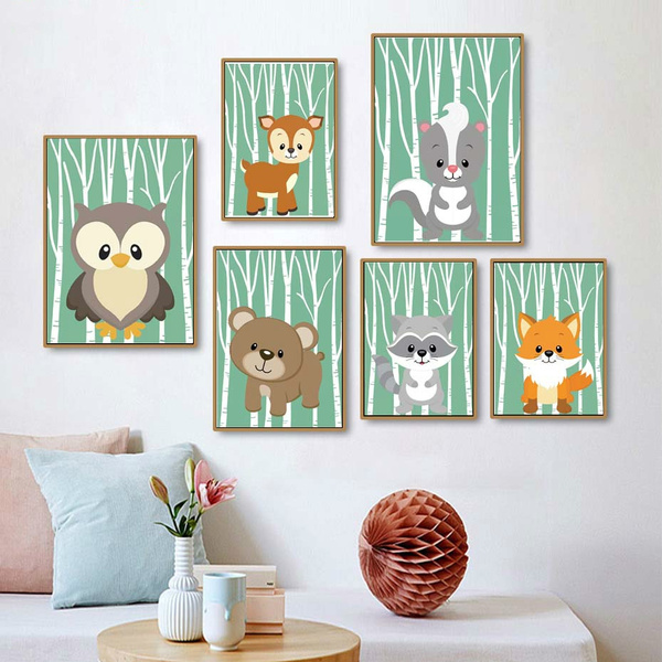 cute, Modern, Wall Art, canvaspainting
