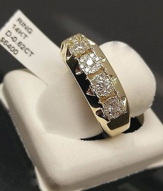 yellow gold, Wedding, DIAMOND, wedding ring